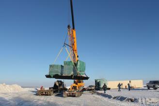 Crane lifting materials