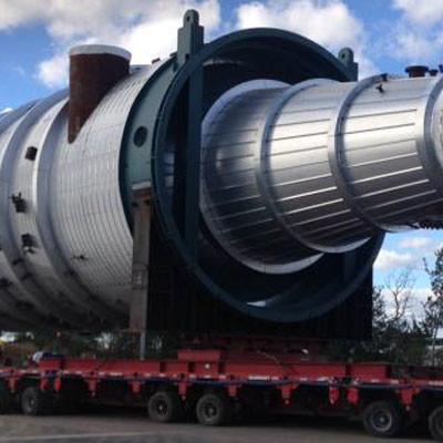 Vacuum Tower on trailer